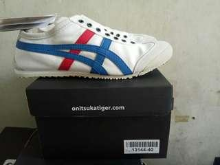 ONITSUKA TIGER WHAIT BLUE RED