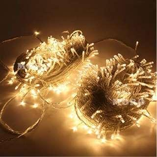 P12 ZOIC 500 LEDs Christmas Wedding Party Fairy String Lights Lamp 100M(328feet) 8 Modes 31V Memory Function Warm White
