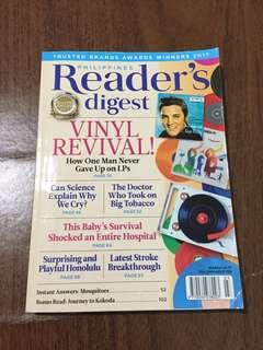 Readers Digest March 2017