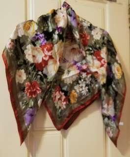 100% Silk Scarf 絲巾