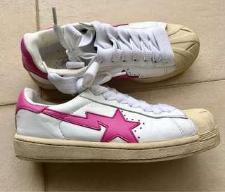 Bape Sta Pink Star Shoes A Bathing Ape 粉紅星 鞋