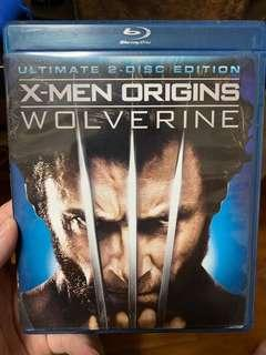 🚚 X-Men Origins: Wolverine Blu-Ray