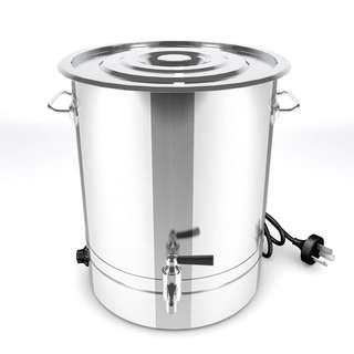 New SOGA Stainless Steel URN Commercial 48L Water Boiler 2800W