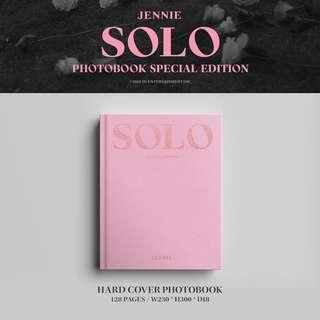 JENNIE ( BLACKPINK ) - SOLO SPECIAL PHOTOBOOK (YG SELECT)