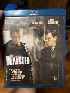 🚚 The Departed Blu-Ray