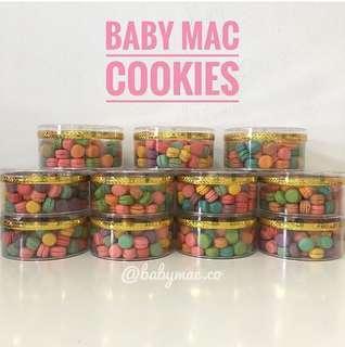 Baby macaron / baby mac cookies