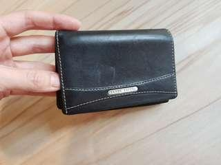 Authentic BRAUN BUFFLE Card Holder Genuine Leather