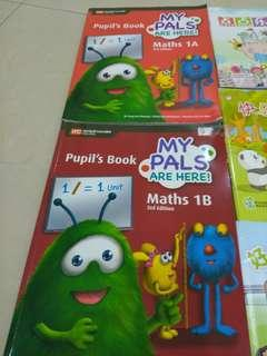My pals are here! Maths textbook 1A and 1B