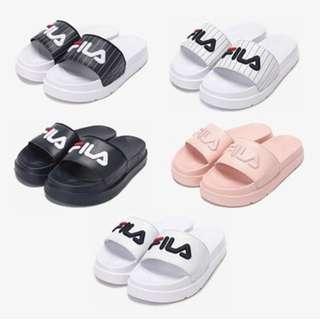 韓國代購🇰🇷 FILA Drifter Jacked up厚底拖鞋