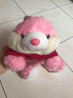 pinky bunny rabbit doll