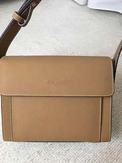 Pierre Cardin tan leather handbag