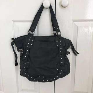Mocha black handbag