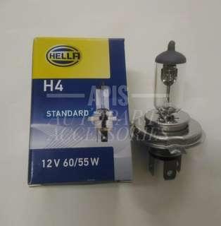 ORIGINAL HELLA HALOGEN BULB H4  12V 60/55W (STANDARD)