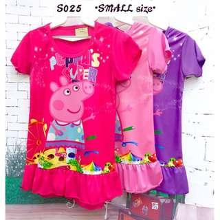 Bargain sale Peppa Jersey Dress S025 *Buy any 3 and above@ RM11 each*