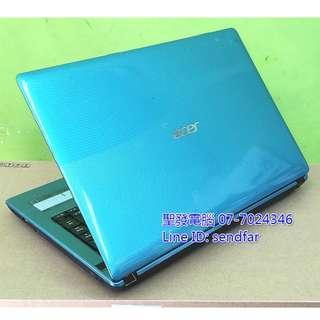 🚚 天M模擬器多開 ACER AS4752G i7-2820QM 8G 500G 獨顯 DVD 14吋筆電 聖發二手筆電