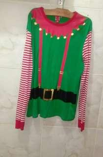 M : christmas outfit