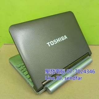 🚚 日系小筆電 TOSHIBA NB200 N280 2G 160G 10吋小筆電 聖發二手筆電