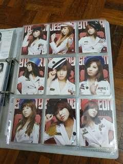 Official Girl's Generations photo cards SNSD