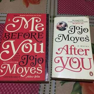 Jojo Moyes' Me Before You and After You