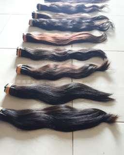 Hair exstansion rambut sambung