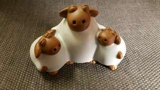 🚚 三羊開泰陶茶寵