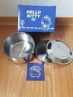 🚚 [限量收藏]太魯閣Hello Kitty列車 不鏽鋼雙層便當盒