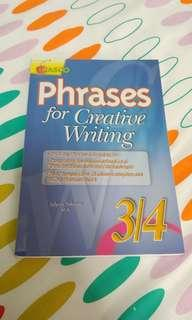 P3/P4 phrases for creative writing