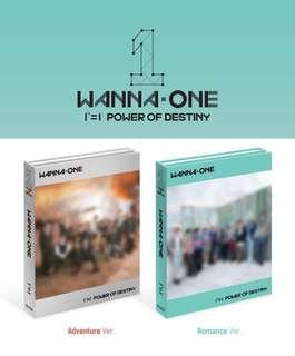 Sealed Wanna One Power of Destiny