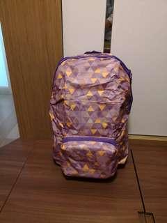 全新紫色背囊
