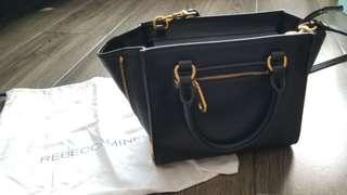 $1000 95%New Authentic  Rebecca Minkoff 2 way crossbody bag with dust bag