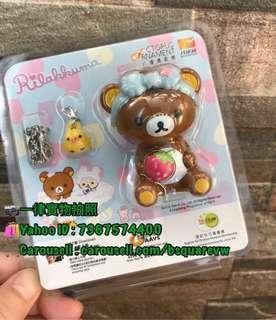 ♥最後2個♥ Rilakkuma 3D八達通配飾 (Rilakkuma 鬆弛熊) 啡熊 - 成人版 (可以郵寄)