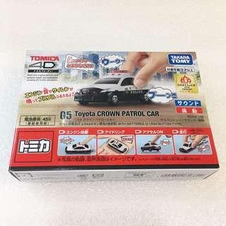 Tomica 4D 05 Toyota CROWN Patrol Car 警車 🚓