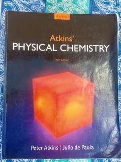 Atkins' Physical Chemistry-Atkins' and de Paula-10th Ed