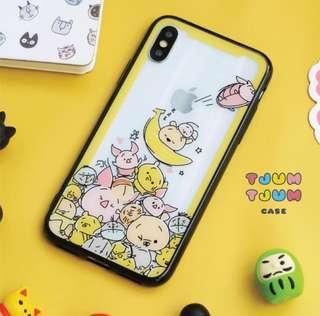 iPhone Case Tjum Tjum Yellow