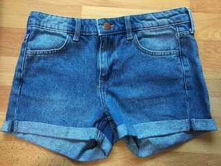 H&M Denim Waist Shorts