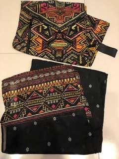 H&M coachella scarf