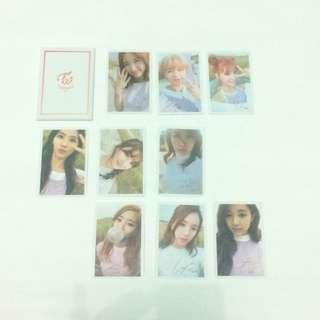 Twice Twicecoaater TT Official Photocard Set 9