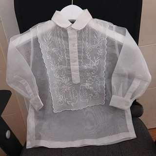 Barong Tagalog for wedding or school events
