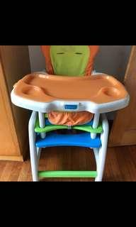 High Chair / kids Table and Chair