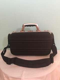 Black big make up case