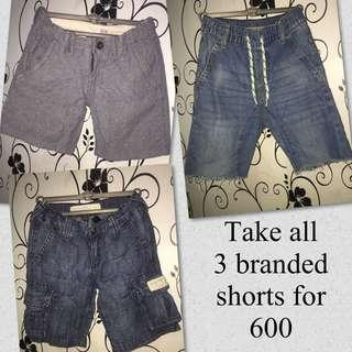 ❗️SALE@500❗️Boy's shorts for take all