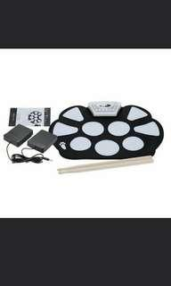 Po: roll up drum set