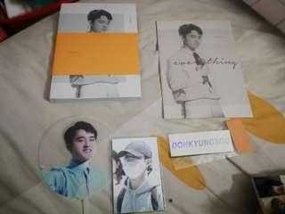 EXO Kyungsoo Everything Fansite Photobook Full Set