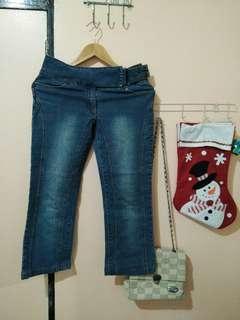 pedal jeans