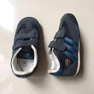 adidas dragon shoes in dark blue