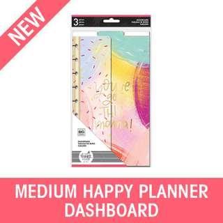 Medium Happy Planner Girl Dashboards, Super Mom