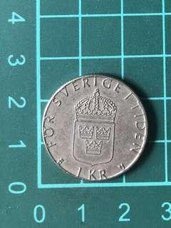 Belgium 1 Kr 1979
