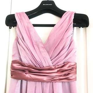 Evening bridesmaid Purple Wedding Dress 粉紫 宴會 姊妹 伴娘長裙 晚裝 婚宴