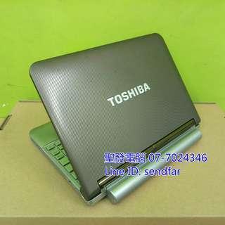 🚚 TOSHIBA NB200 N280 2G 160G 10inch laptop ''sendfar second hand'' 聖發二手筆電