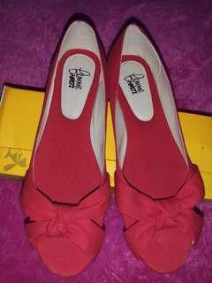 PreLoved Flatshoes Handmade Femme Merah